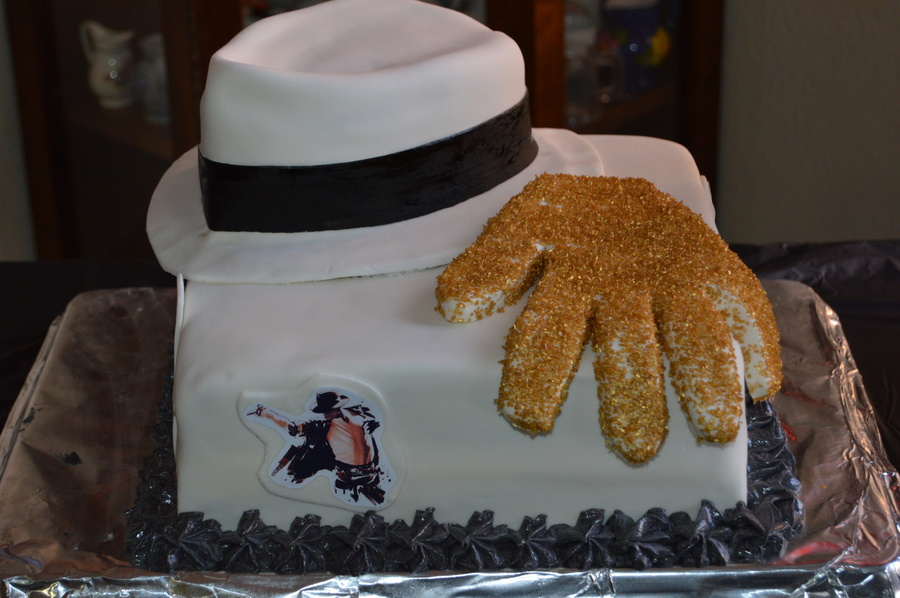 Stupendous Michael Jackson Birthday Cake Cakecentral Com Funny Birthday Cards Online Alyptdamsfinfo