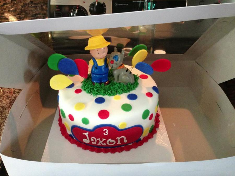 Stupendous Caillou Birthday Cake Cakecentral Com Funny Birthday Cards Online Elaedamsfinfo
