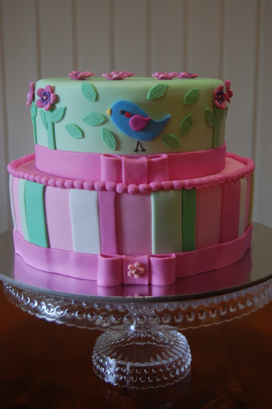 """blue Bird"" on Cake Central"