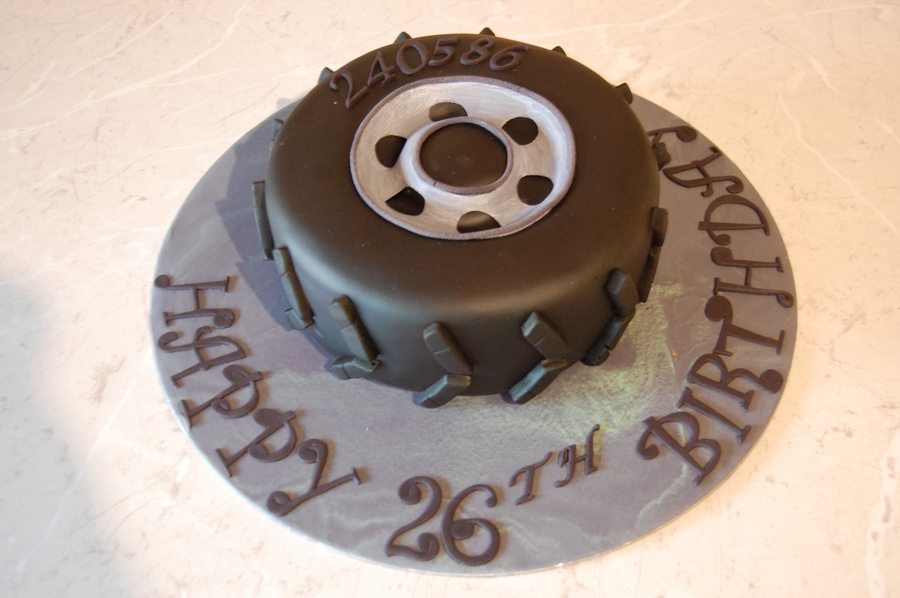 Leigh's Tyre on Cake Central