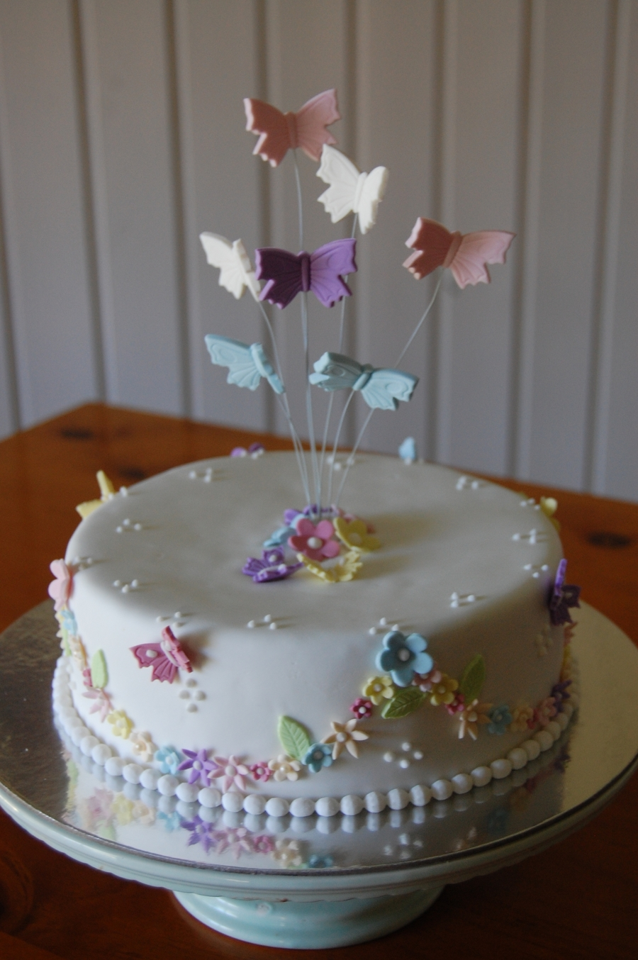 """butterfly Delight"" on Cake Central"