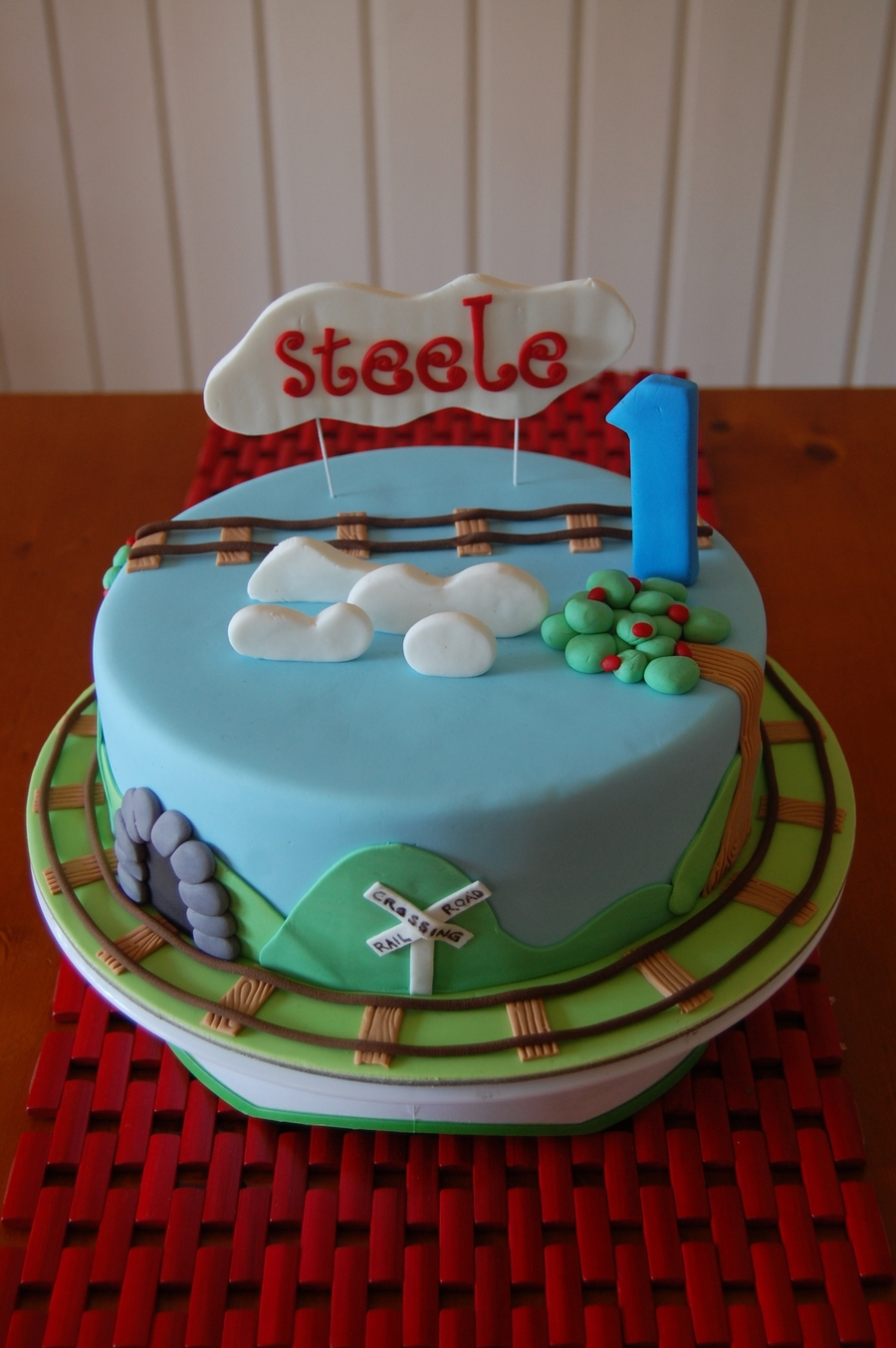 Steeles Thomas Themed Cake on Cake Central