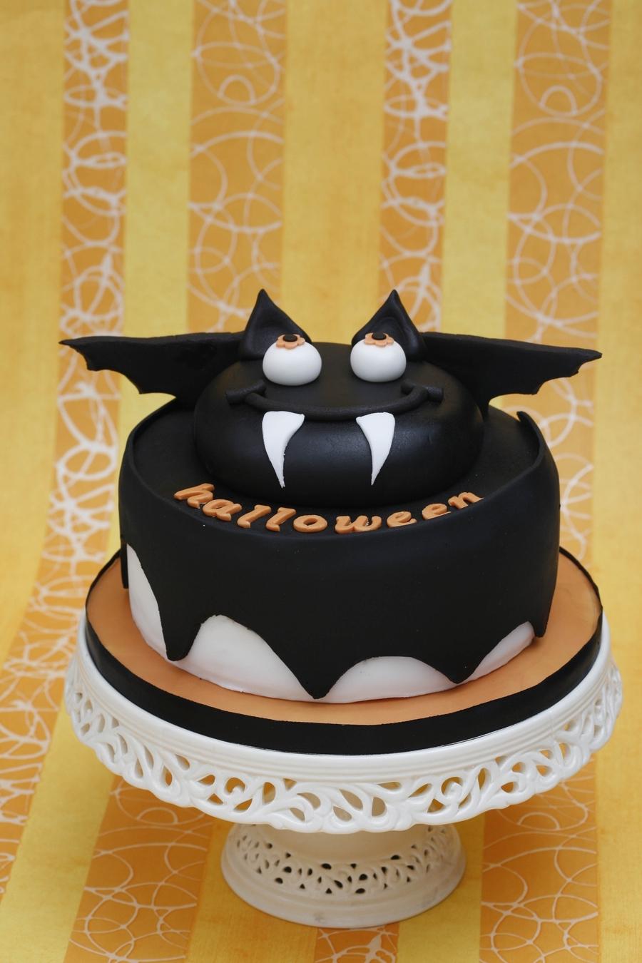 Bat Cake Cakecentral Com