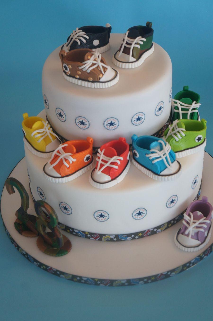 New All Star Fashion Cake CakeCentralcom - All star birthday cake