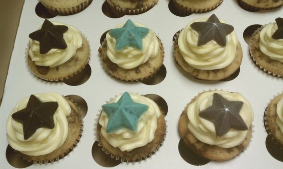 Star Cupcakes on Cake Central