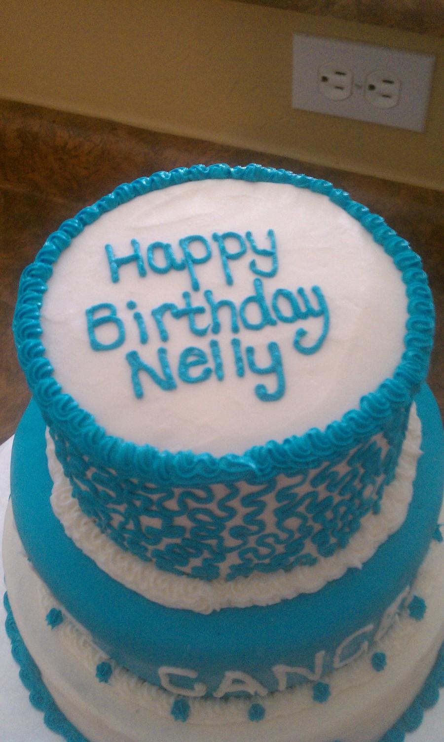 Colon Cancer Survivor Birthday CakeCentralcom - Slayer birthday cake