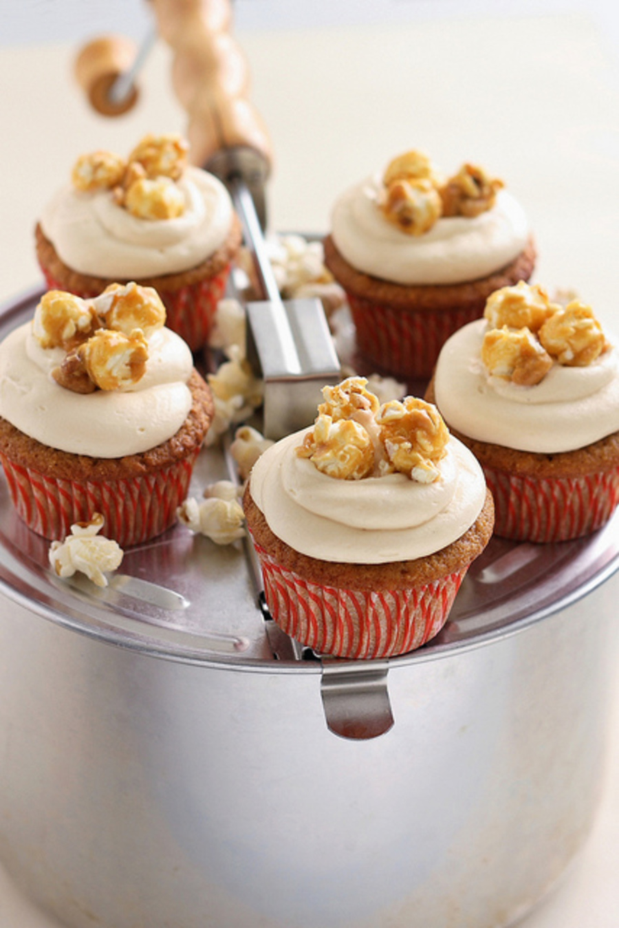 Caramel Popcorn Cupcakes on Cake Central