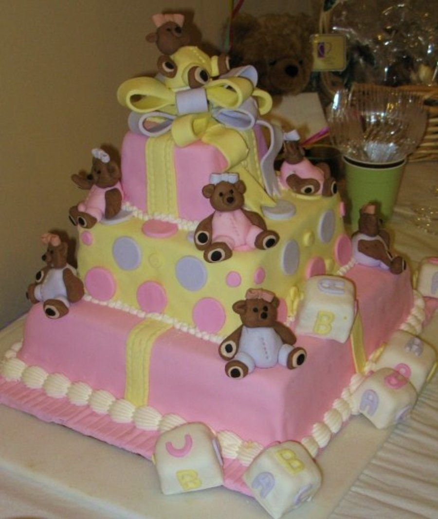 Bunch Of Teddys  on Cake Central