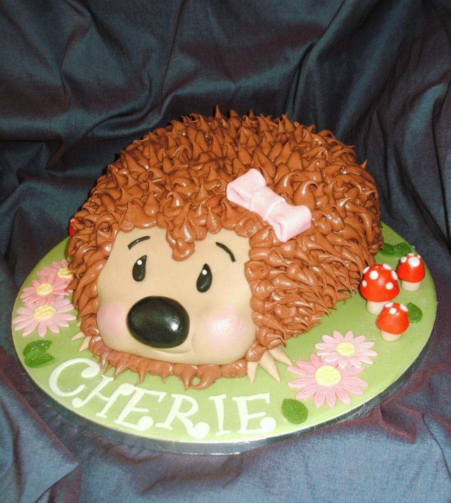 Hedgehog Cake Cakecentral Com