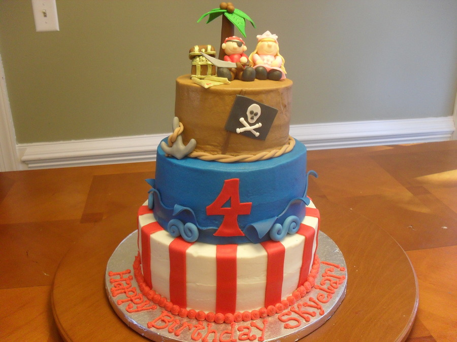 Pirate And Princess on Cake Central