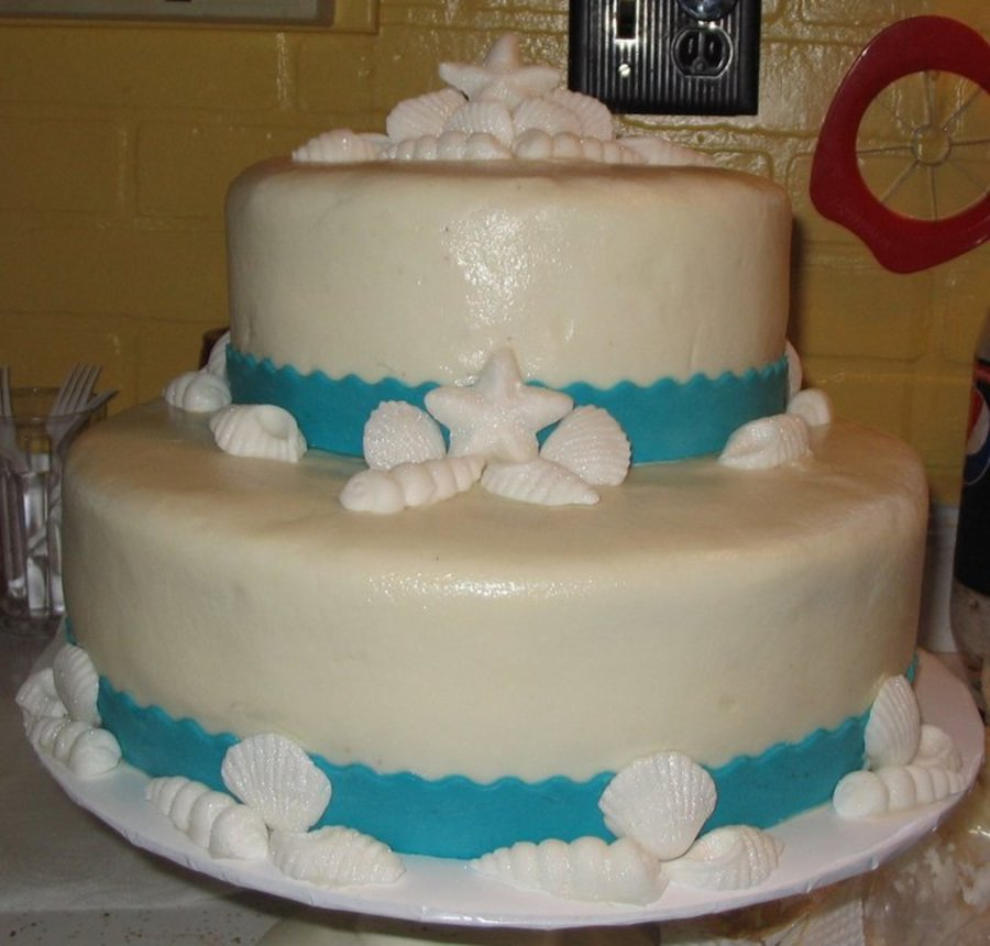 Sea Shell Cake  on Cake Central