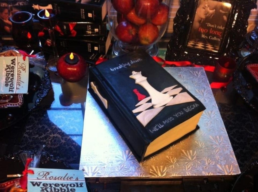A Goodbye Cake For A Twilight Fan on Cake Central