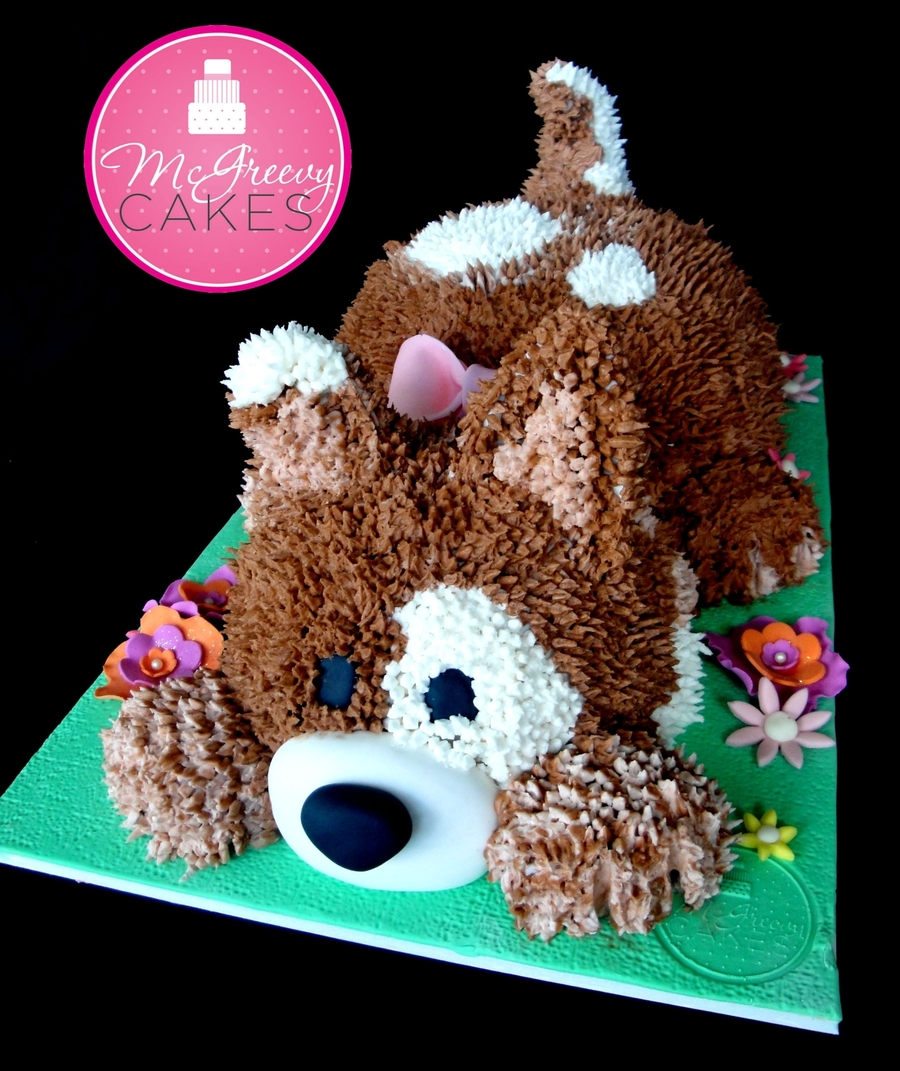 Playful Puppy Cakecentral Com