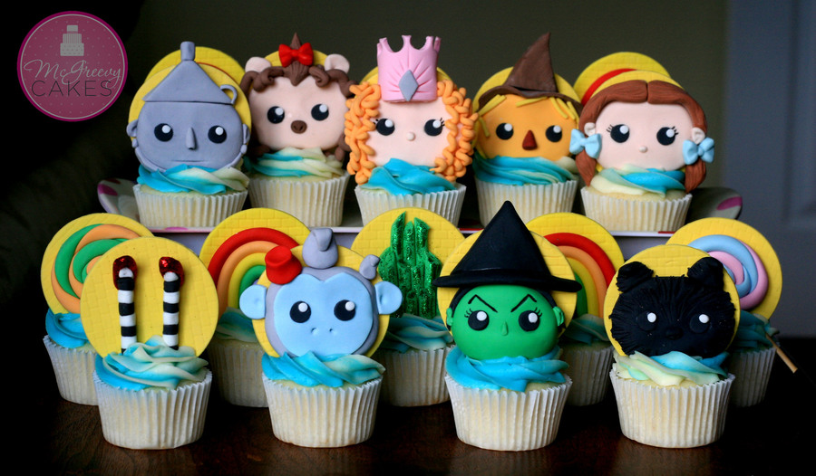 The Wizard Of Oz Cupcakes Cakecentral Com
