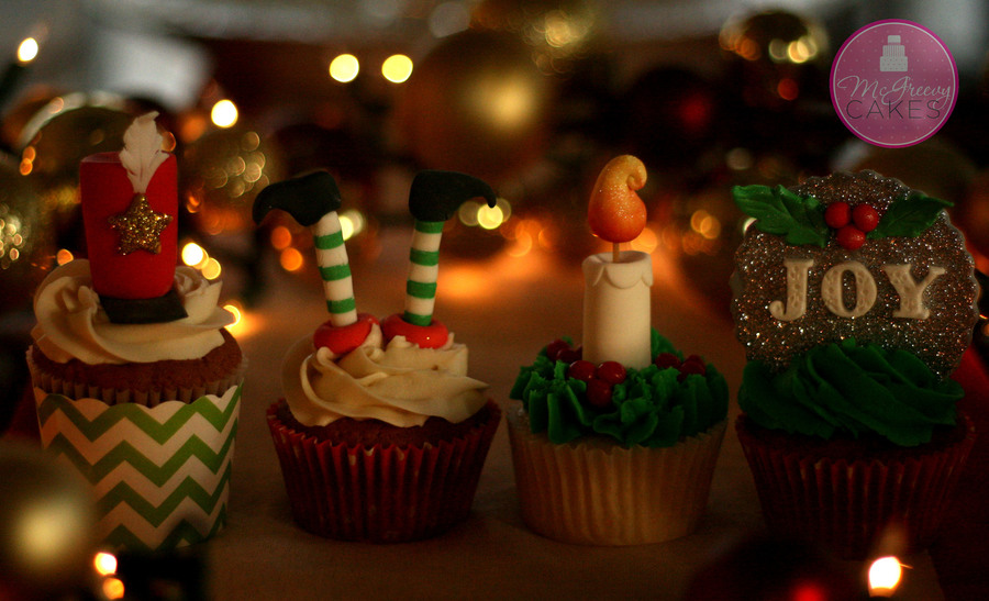Nutcrackers, Elves, And Candles, Oh Joy! on Cake Central
