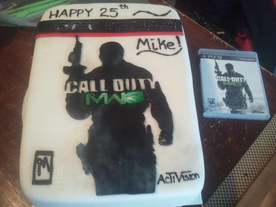 Call Of Duty Mw3 Cake on Cake Central