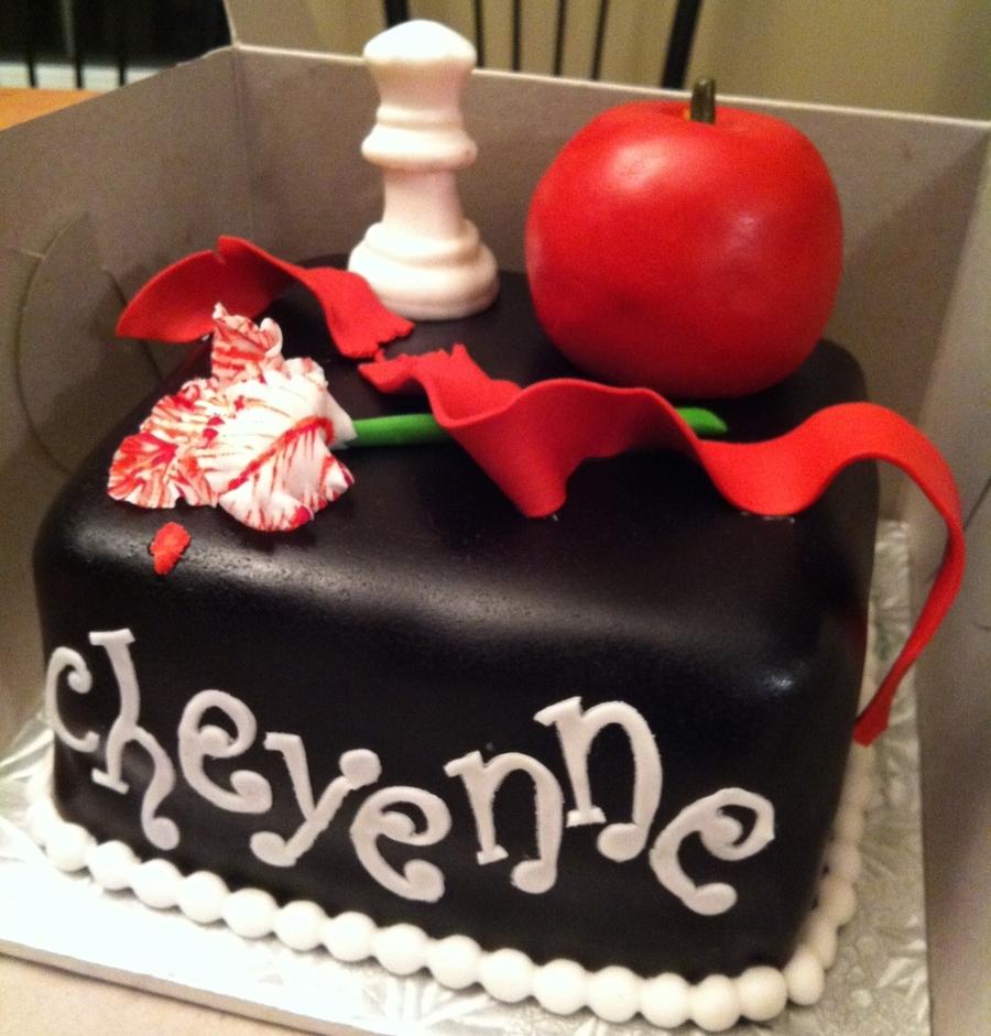 Terrific Twilight Birthday Cake Cakecentral Com Funny Birthday Cards Online Overcheapnameinfo