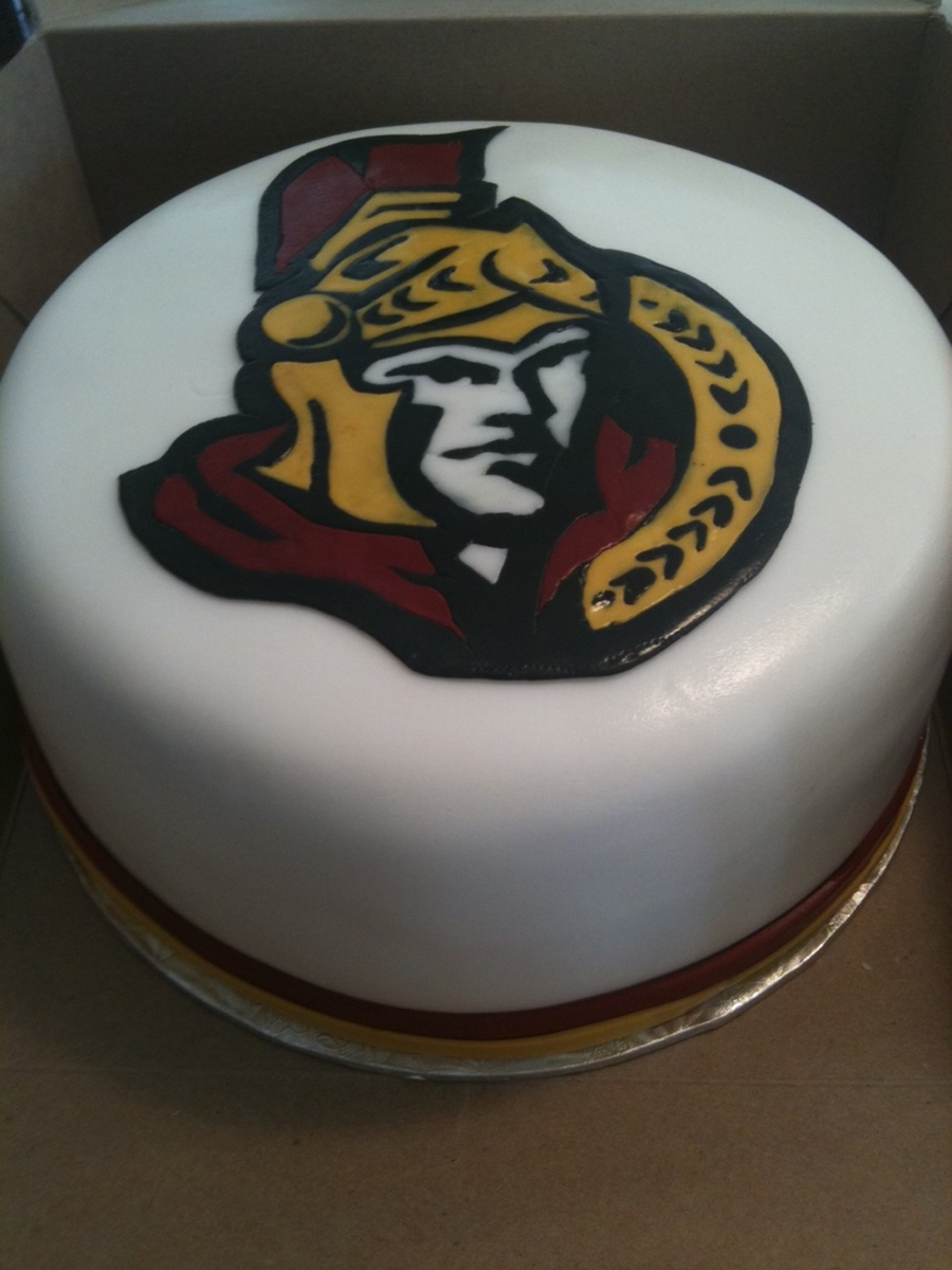 Nhl Ottawa Senators on Cake Central