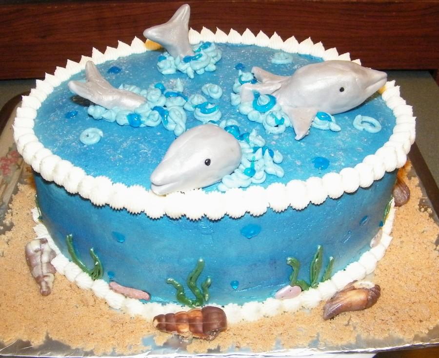 Dolphin Cake Cakecentral Com