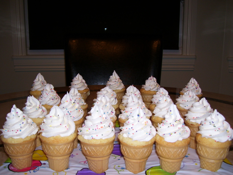 Ice Cream Cone Cupcakes on Cake Central
