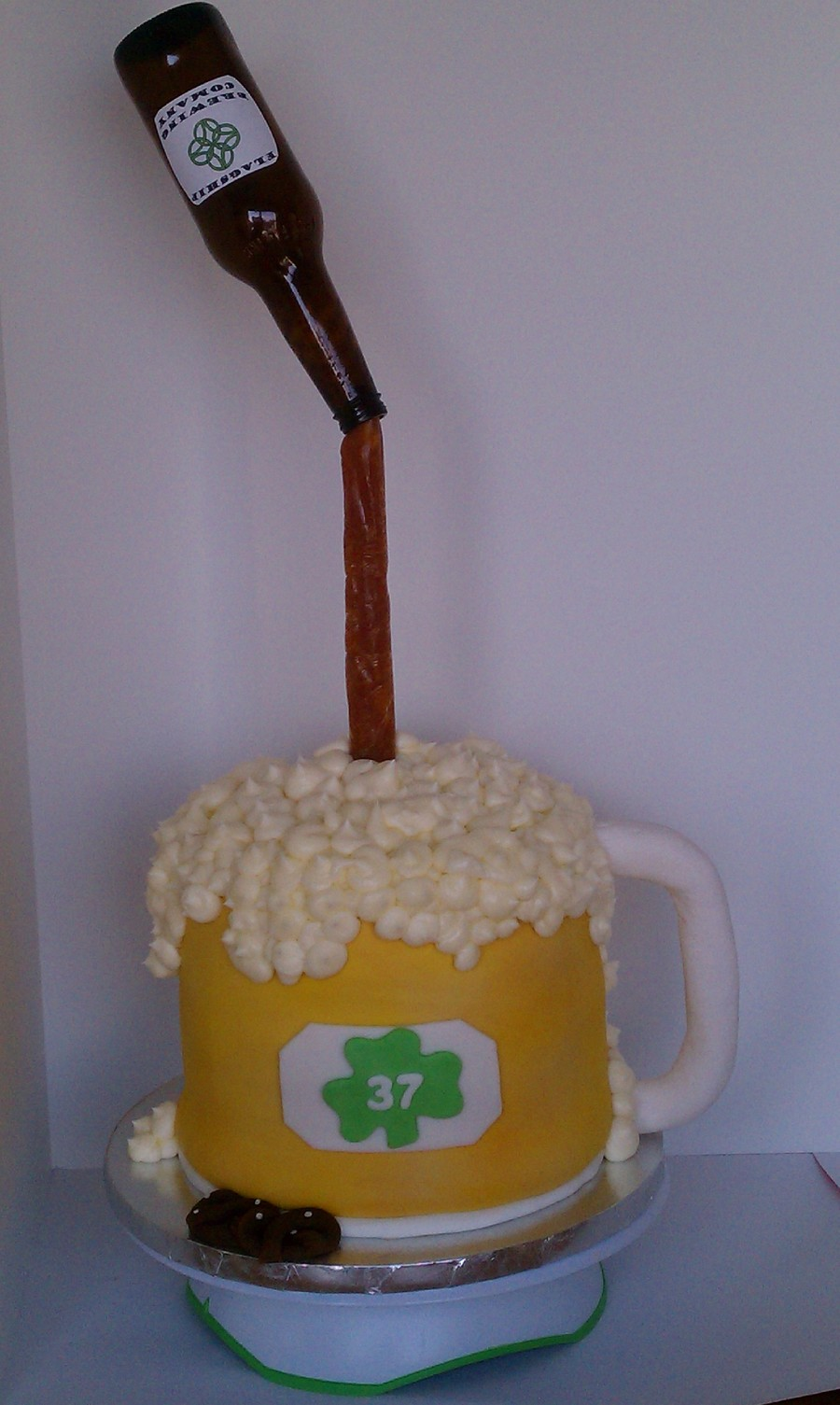 Beer Pouring Cake Recipe