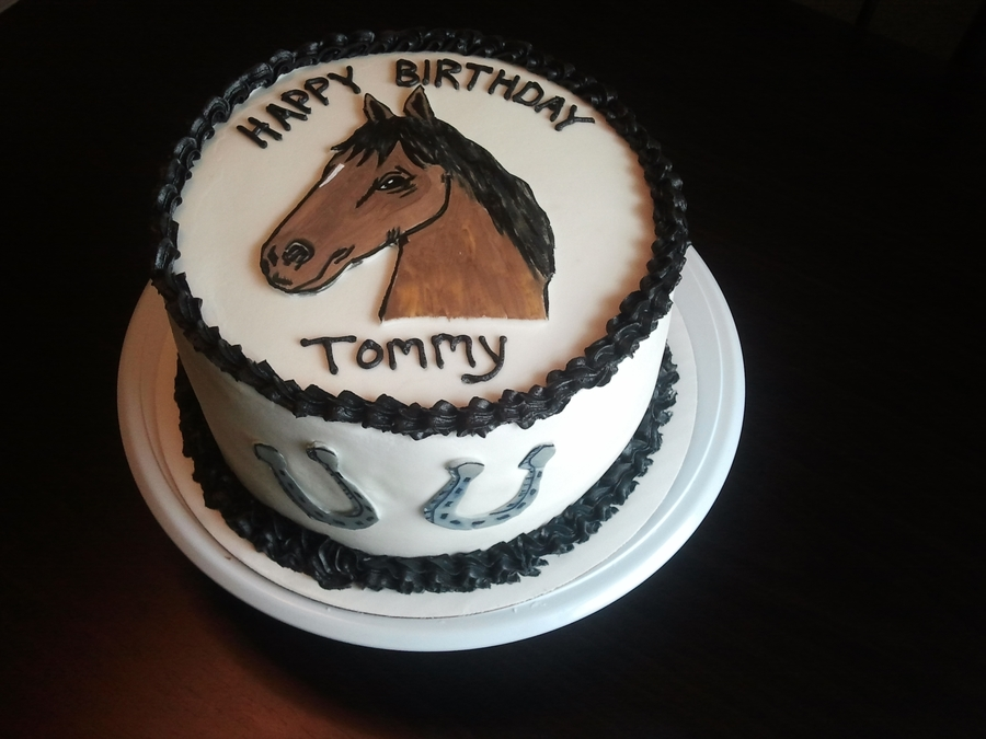Horse on Cake Central