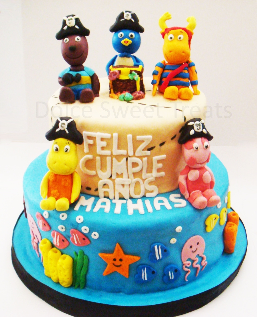 Backyardigans Pirate Cake on Cake Central
