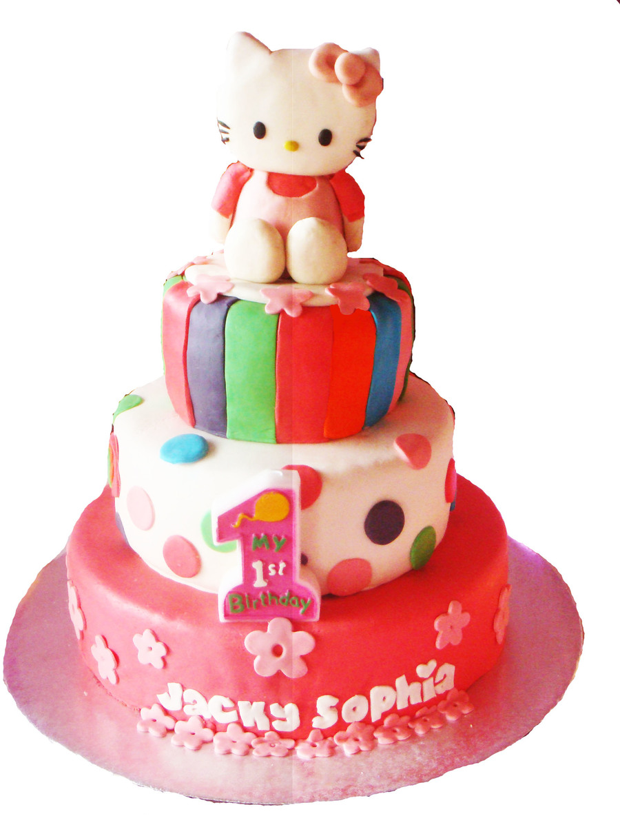 Hello Kitty Birthday Extravaganza on Cake Central