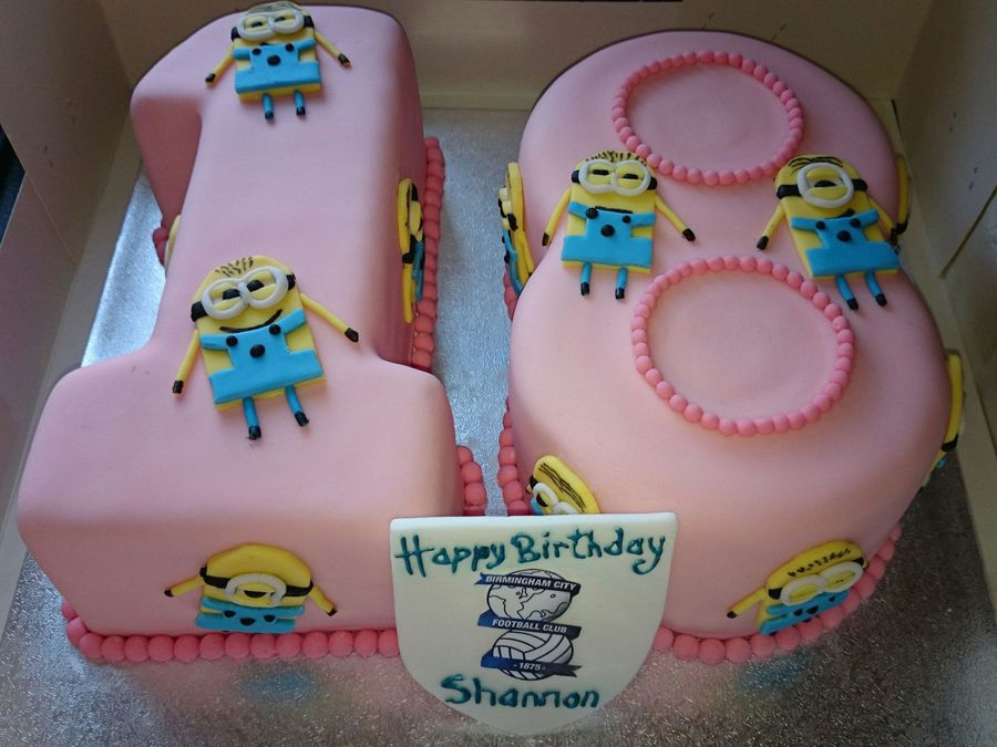 Birthday Cake Images Minions ~ Th birthday minions cake cakecentral