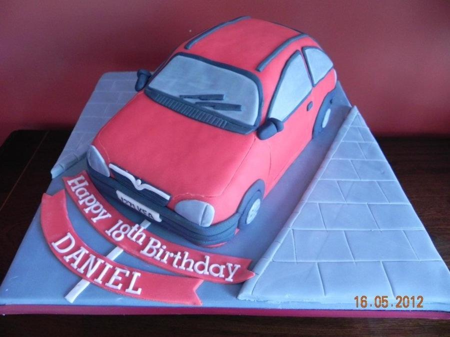 Vauxhall Birthday Cake