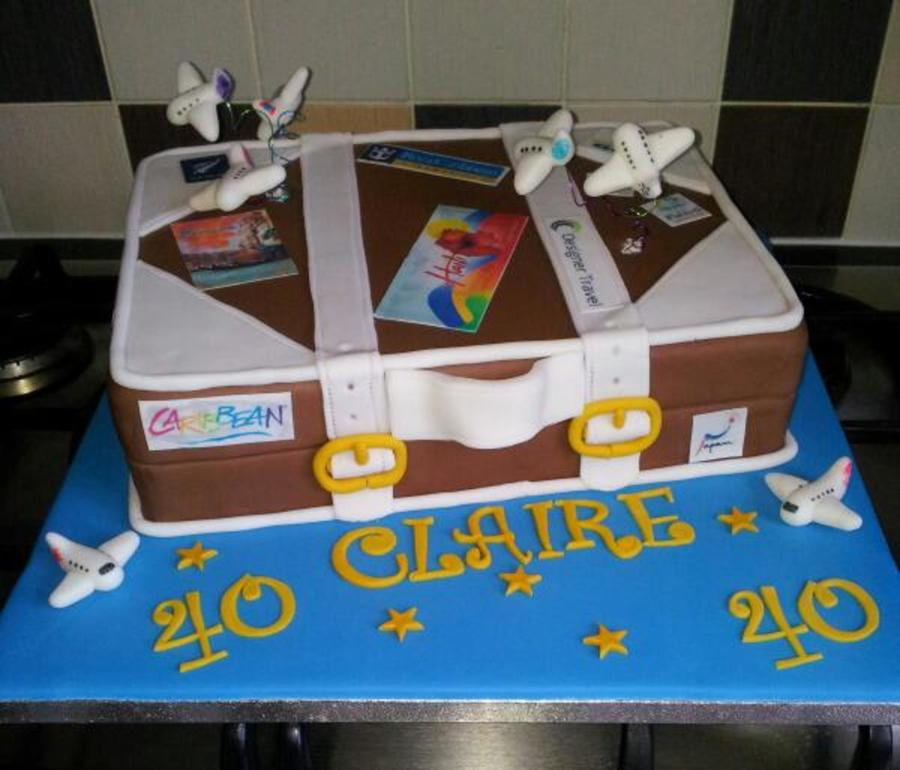 Suitcase Birthday Cake Cakecentral