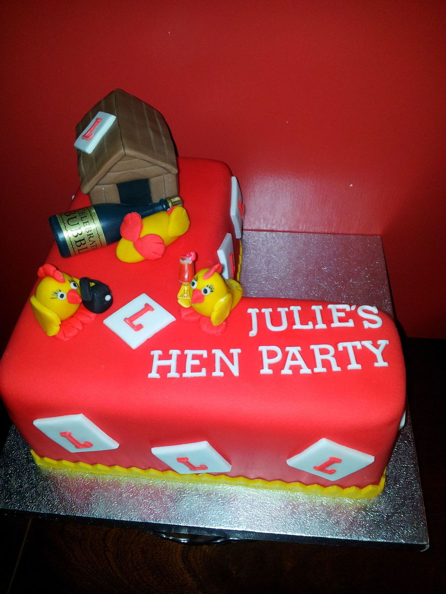 Hen Party Cake - CakeCentral.com