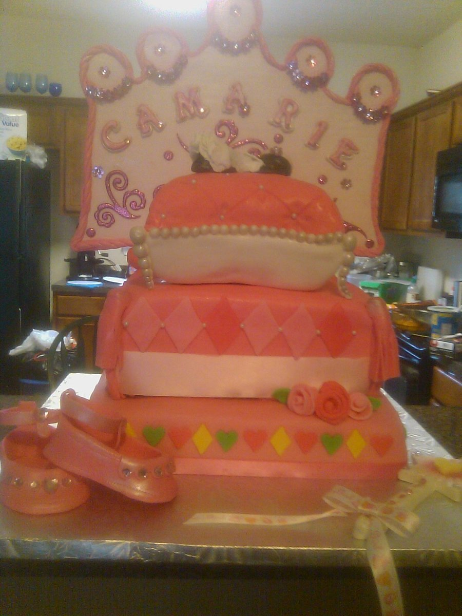 babyshower baby shower fondant gumpaste baby princes shower gumpaste