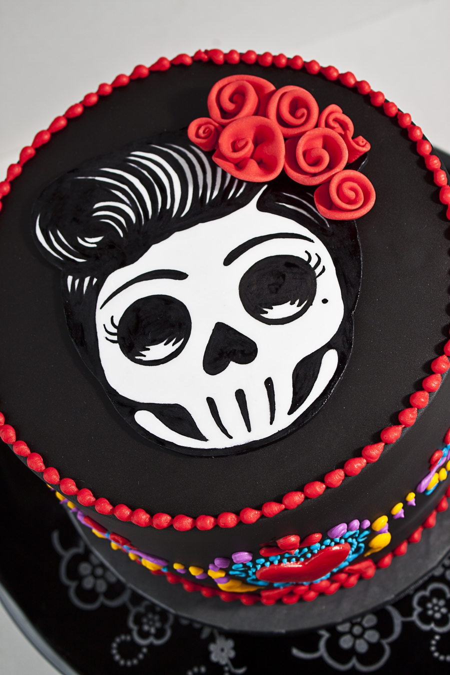Dia De Los Muertos Birthday Cake CakeCentralcom