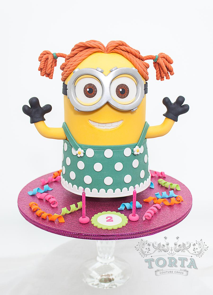 minion dave in drag cakecentralcom