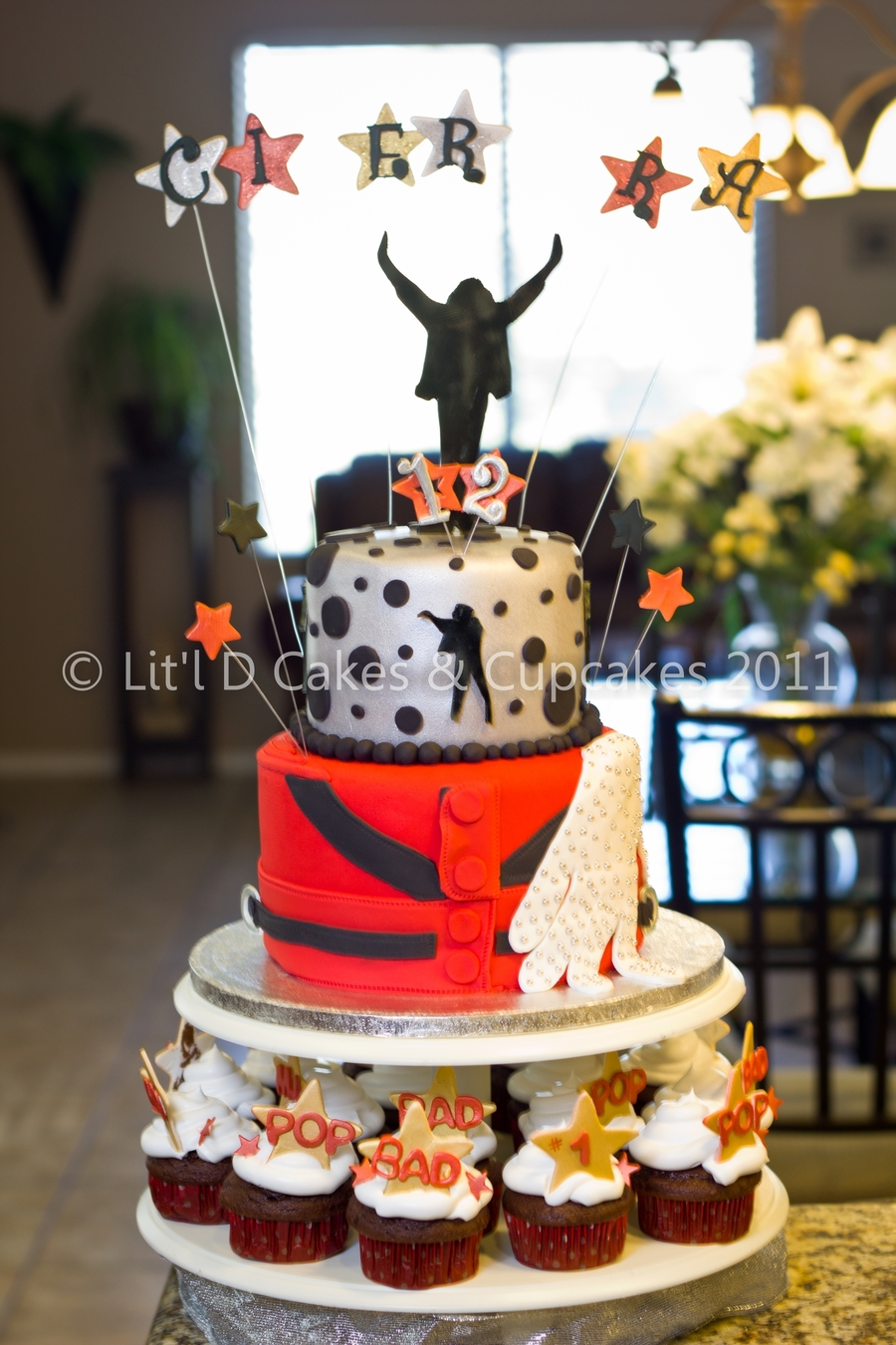 Michael Jackson Themed Birthday Cake Cakecentral Com