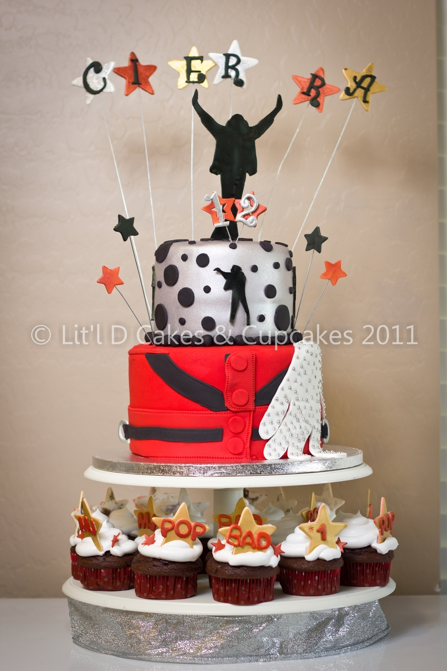 Sensational Michael Jackson Themed Birthday Cake Cakecentral Com Personalised Birthday Cards Cominlily Jamesorg