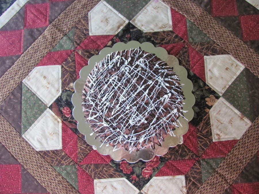Chocolate Drizzle Cake  on Cake Central