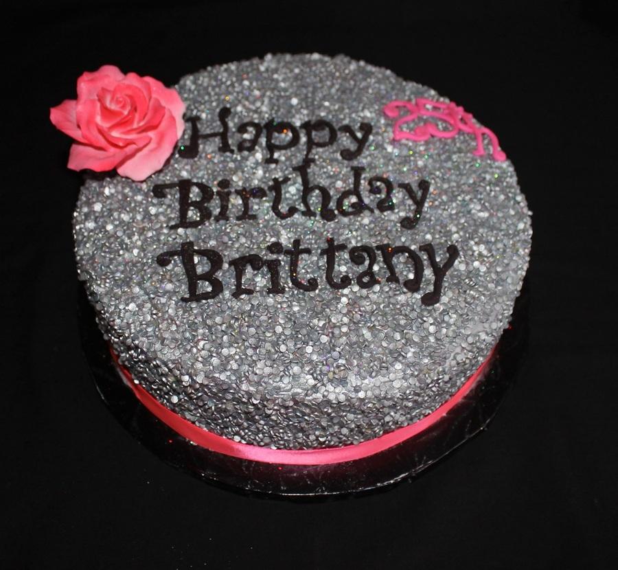 Glitter Birthday Cake Cakecentral