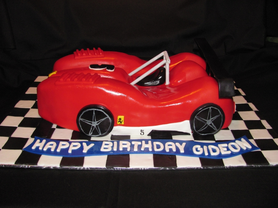 Ferrari Birthday Cake on Cake Central