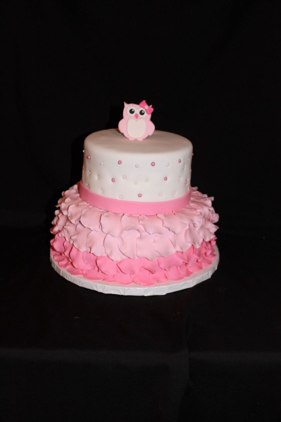 Owl First Birthday Cake Cakecentral