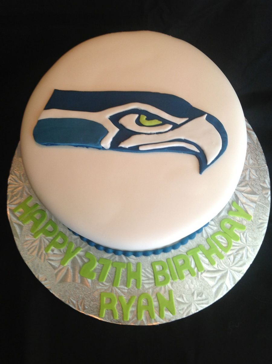 Pleasant Seattle Seahawks Birthday Cake Cakecentral Com Birthday Cards Printable Opercafe Filternl