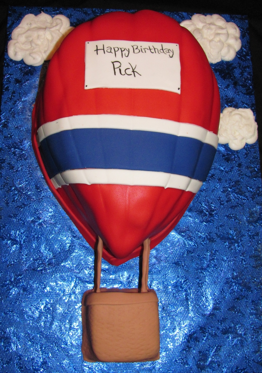 Hot Air Balloon Cake on Cake Central