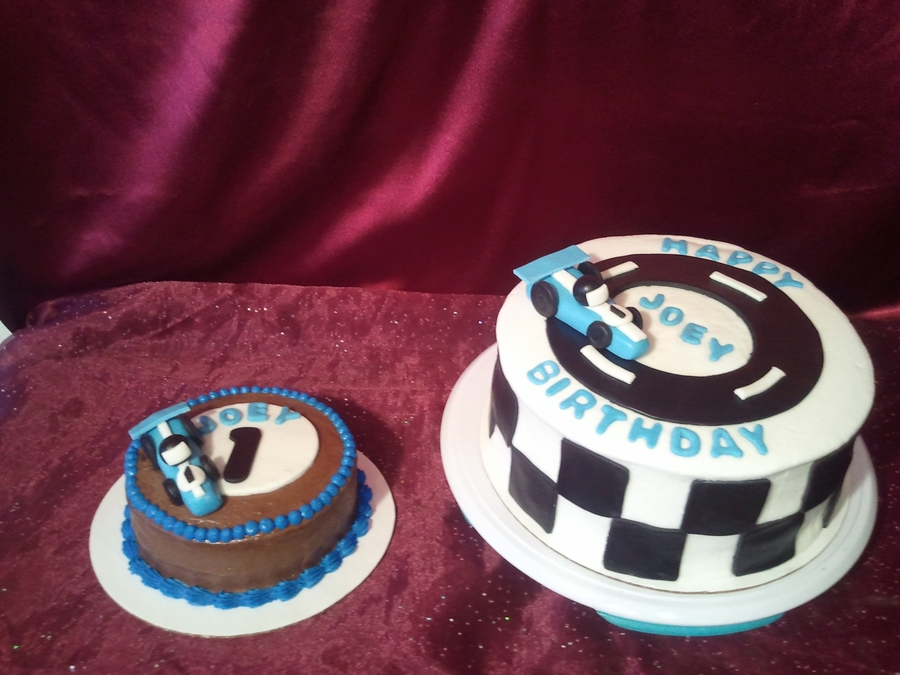 Indy Car Birthday Cake CakeCentralcom
