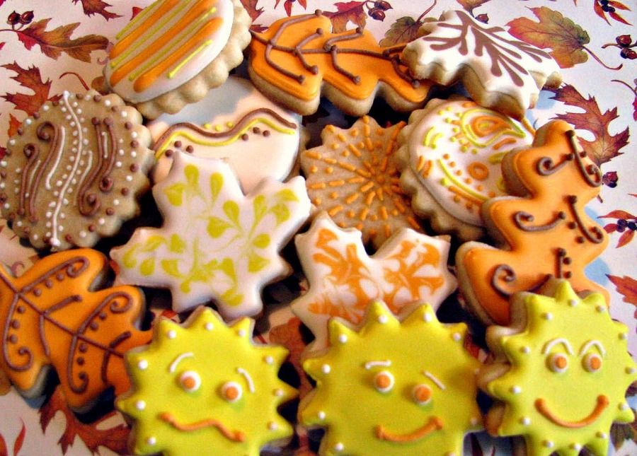 Autumn Cookies on Cake Central
