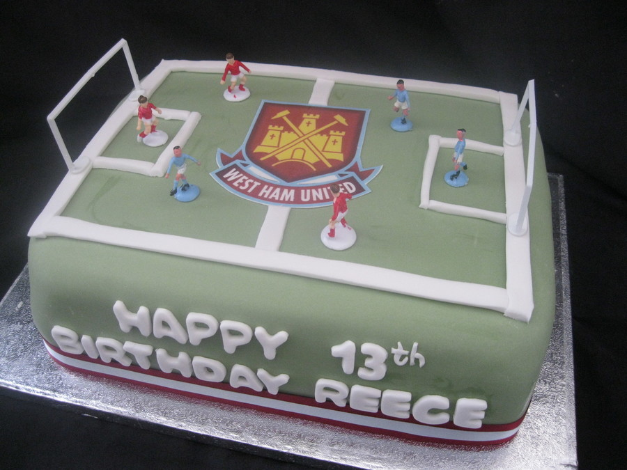 Football Pitch on Cake Central