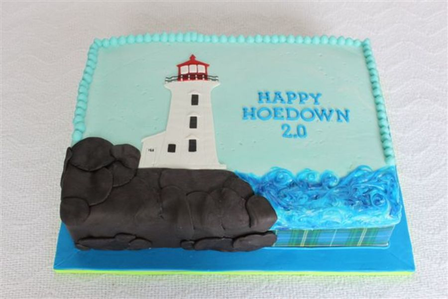 Peggy's Cove on Cake Central