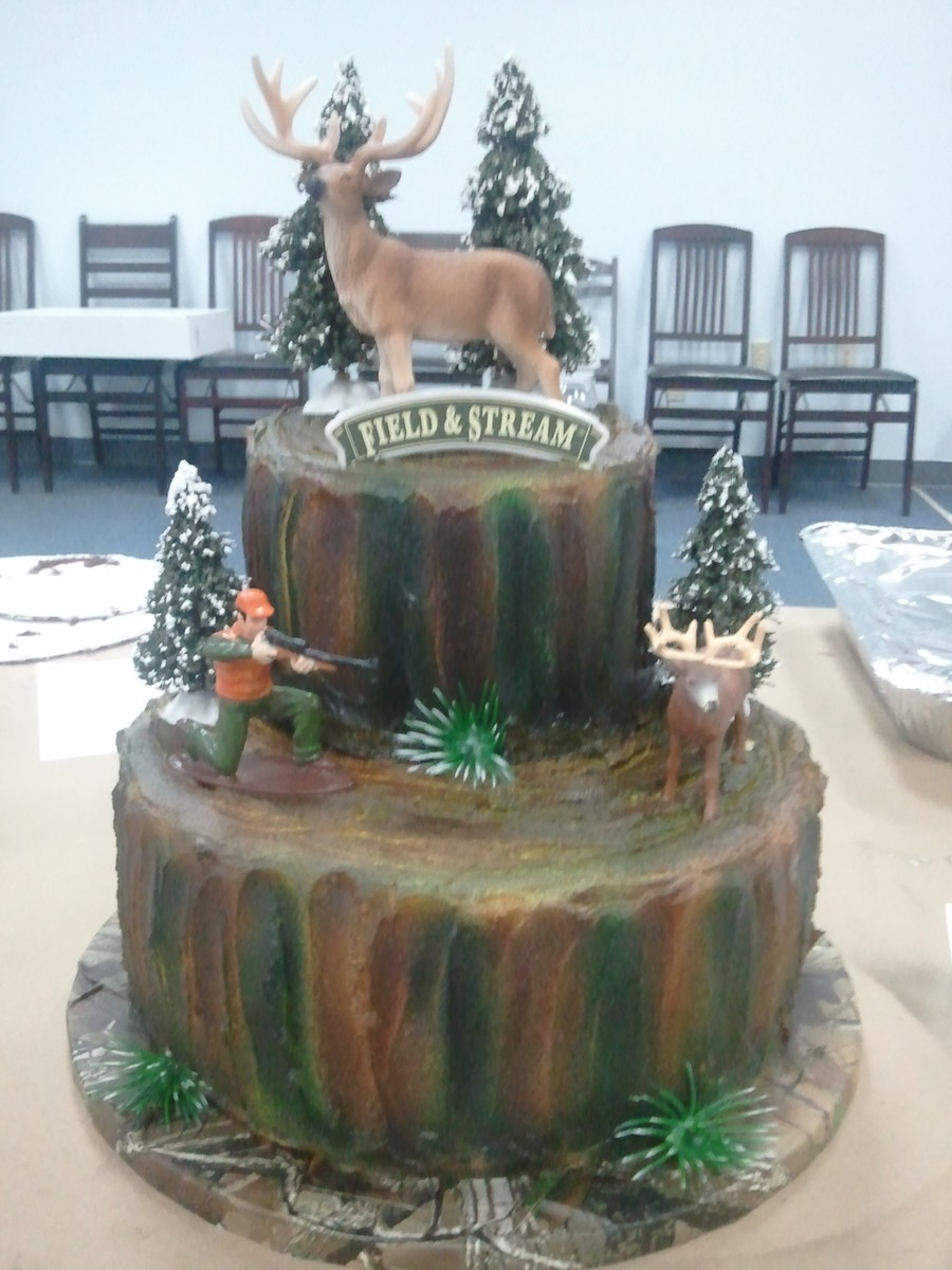 First Deer Airbrush Cake Class on Cake Central