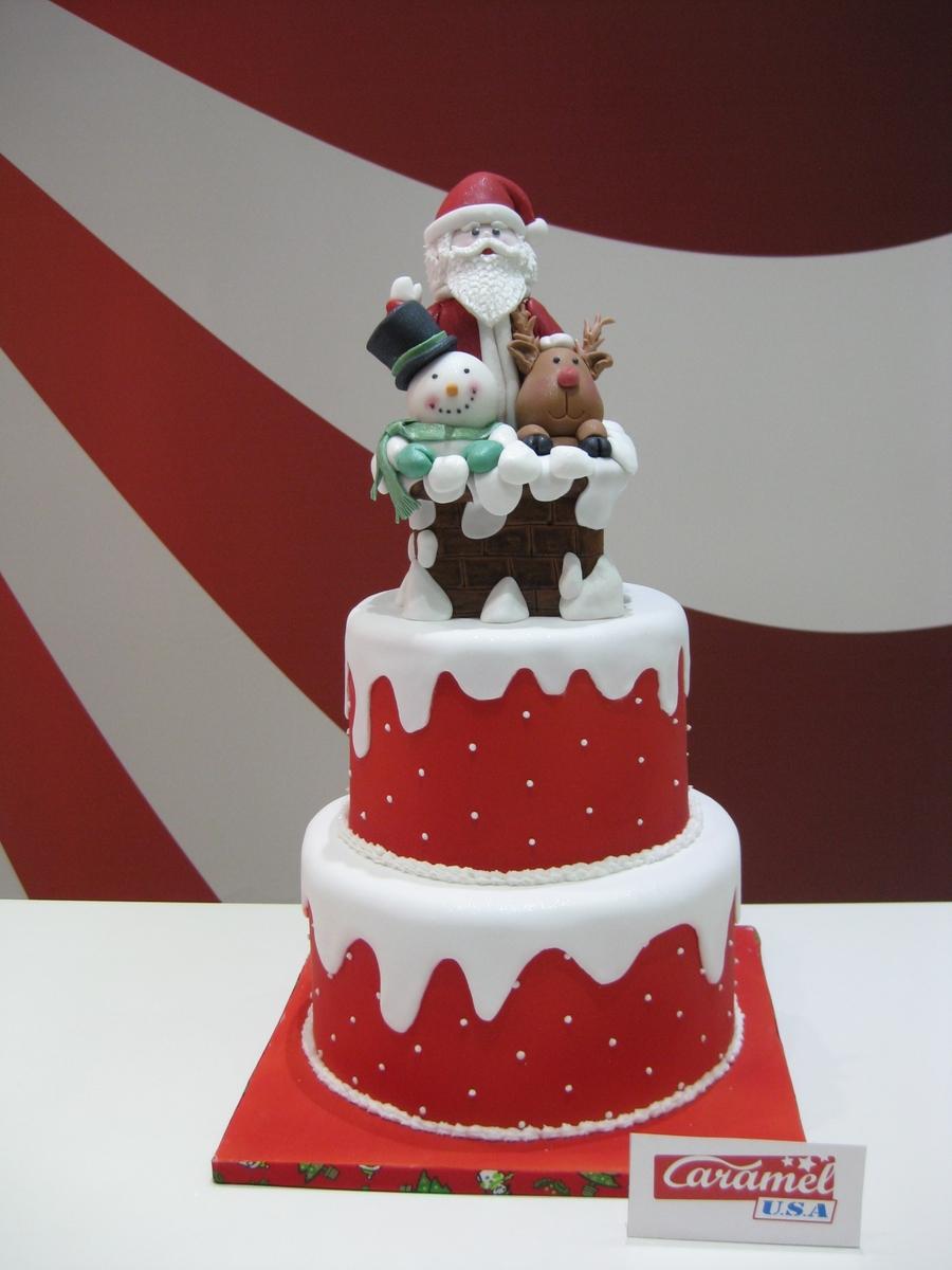 Merry Christmas Cake Images : Merry Christmas From Caramelusa, Barcelona - CakeCentral.com