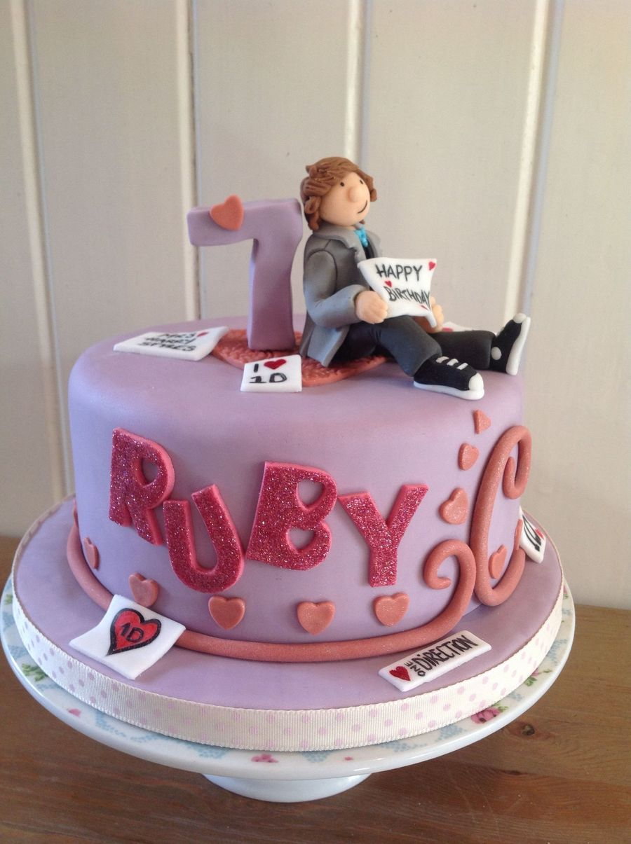 Pleasant Harry Styles 1D Birthday Cake Cakecentral Com Funny Birthday Cards Online Eattedamsfinfo
